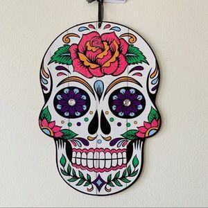 Sugar skull wall decor Halloween day of the dead